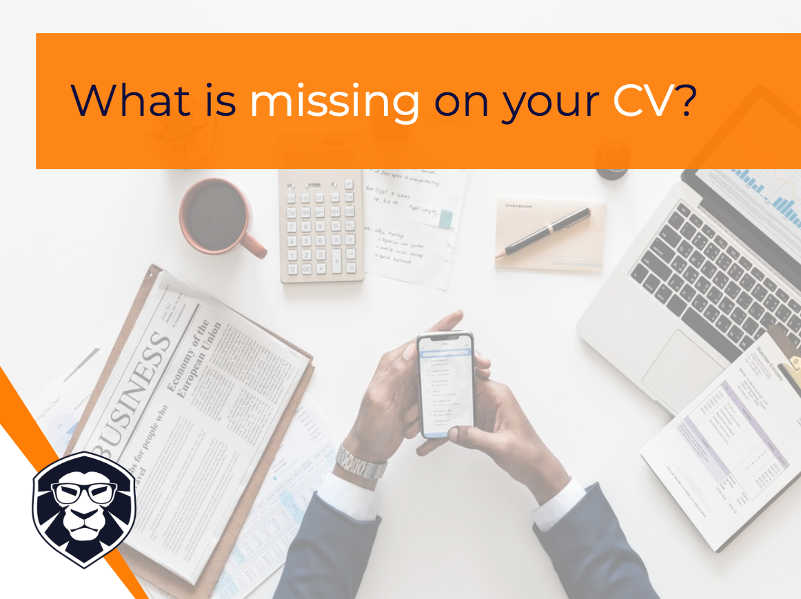 What is missing on your CV? - Blog Gamechanger Luxembourg