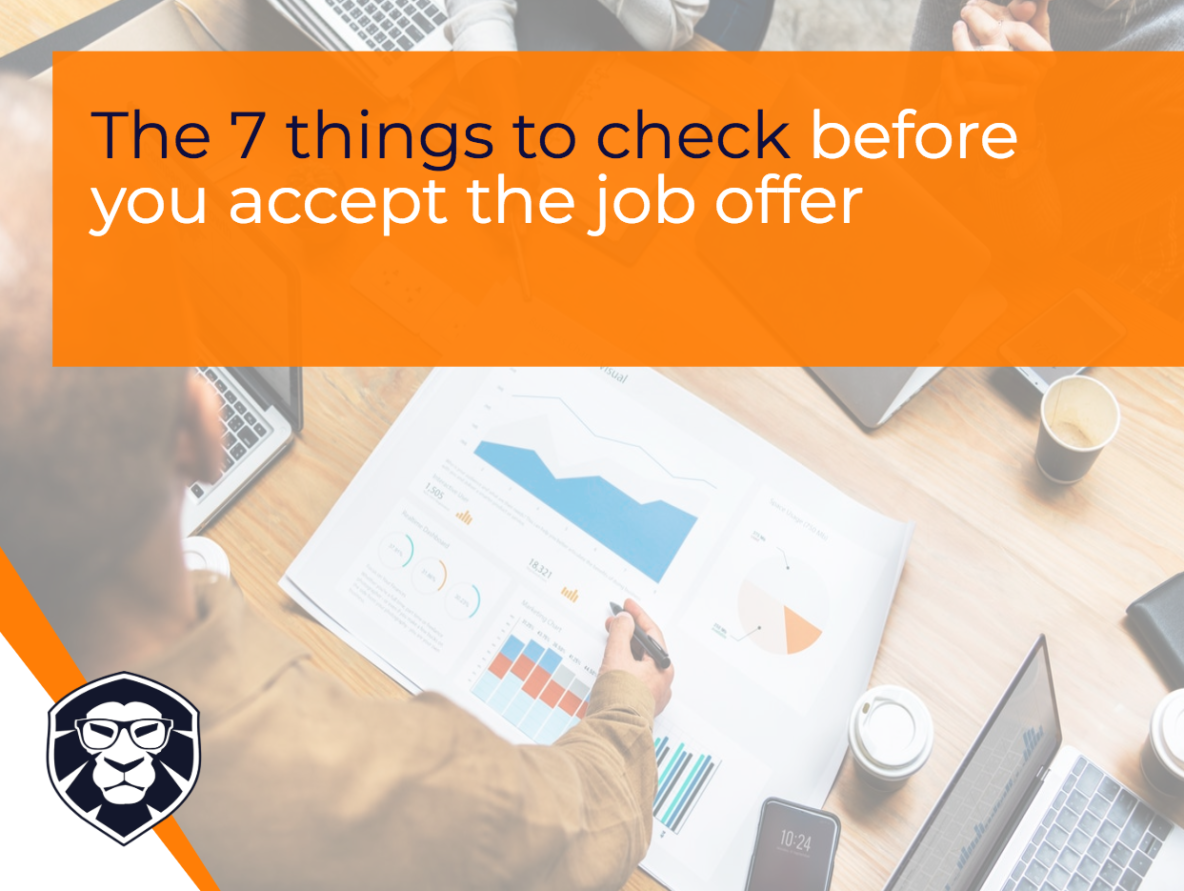 The 7 things to check before you accept the job offer - Blog Gamechanger Luxembourg