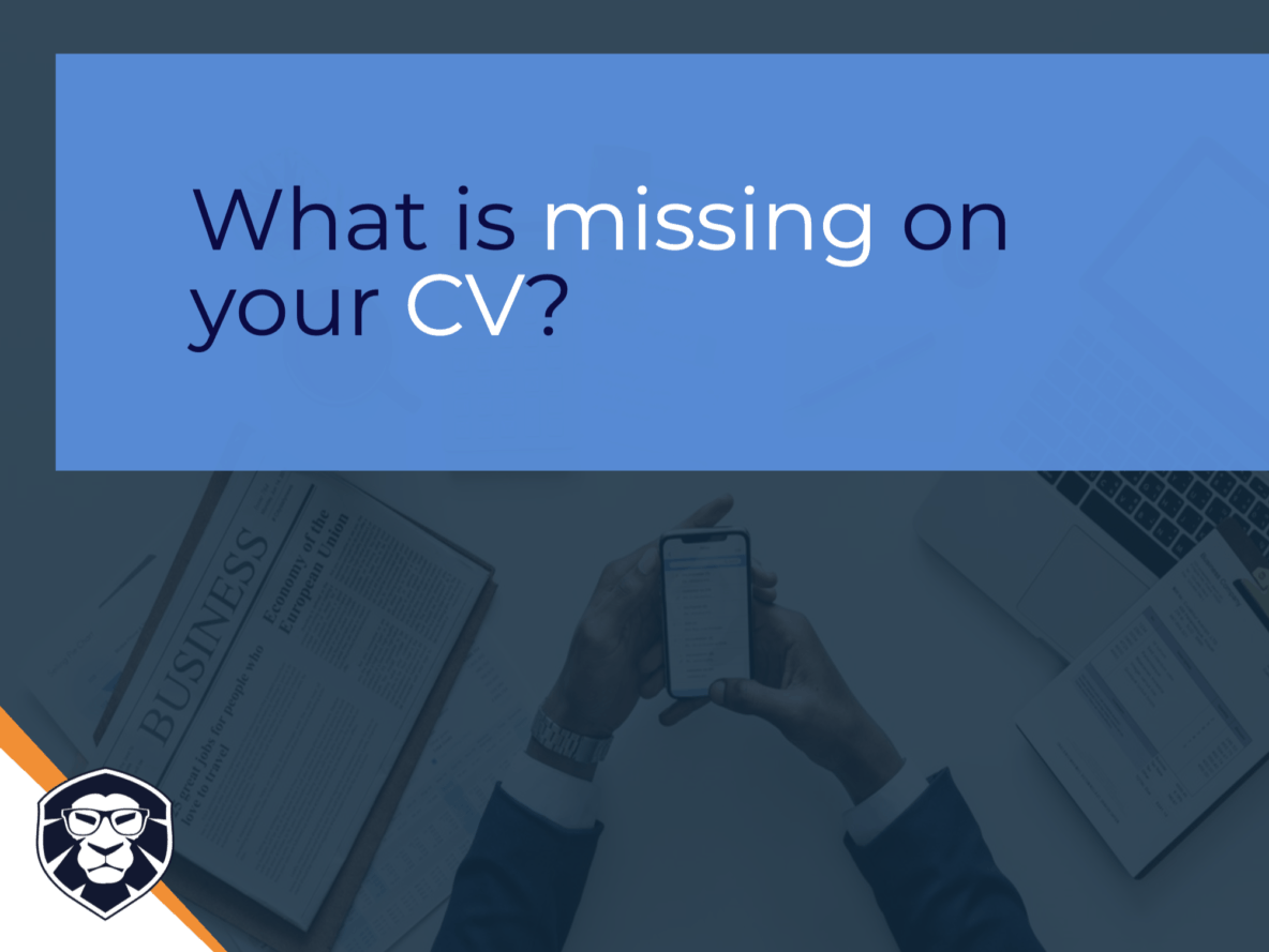 What is missing on your CV to make it better? Blog Gamechanger Luxembourg