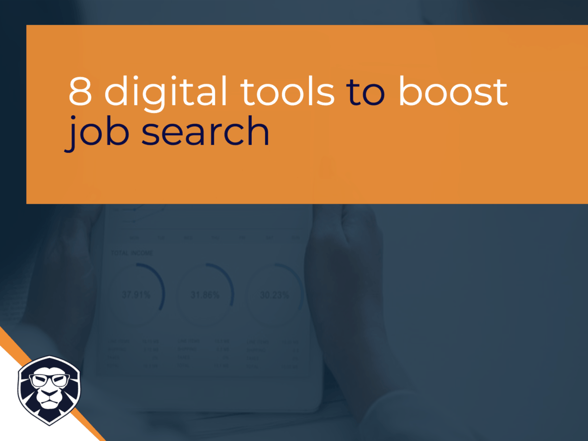 8 digital tools to boost your job search - Blog Gamechanger